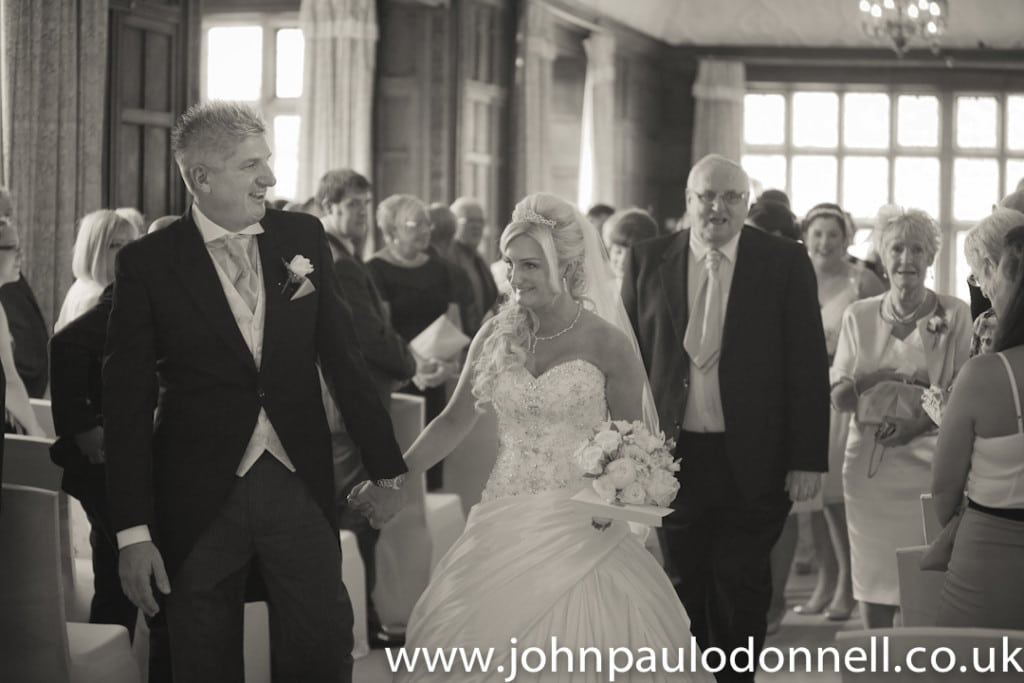 fanhams hall after ceremony