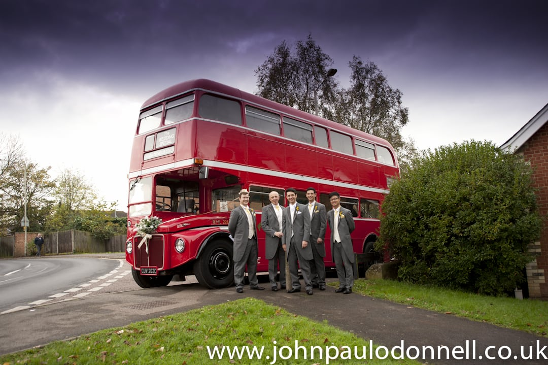Routemaster Bus St Pauls Church Hoddesdon