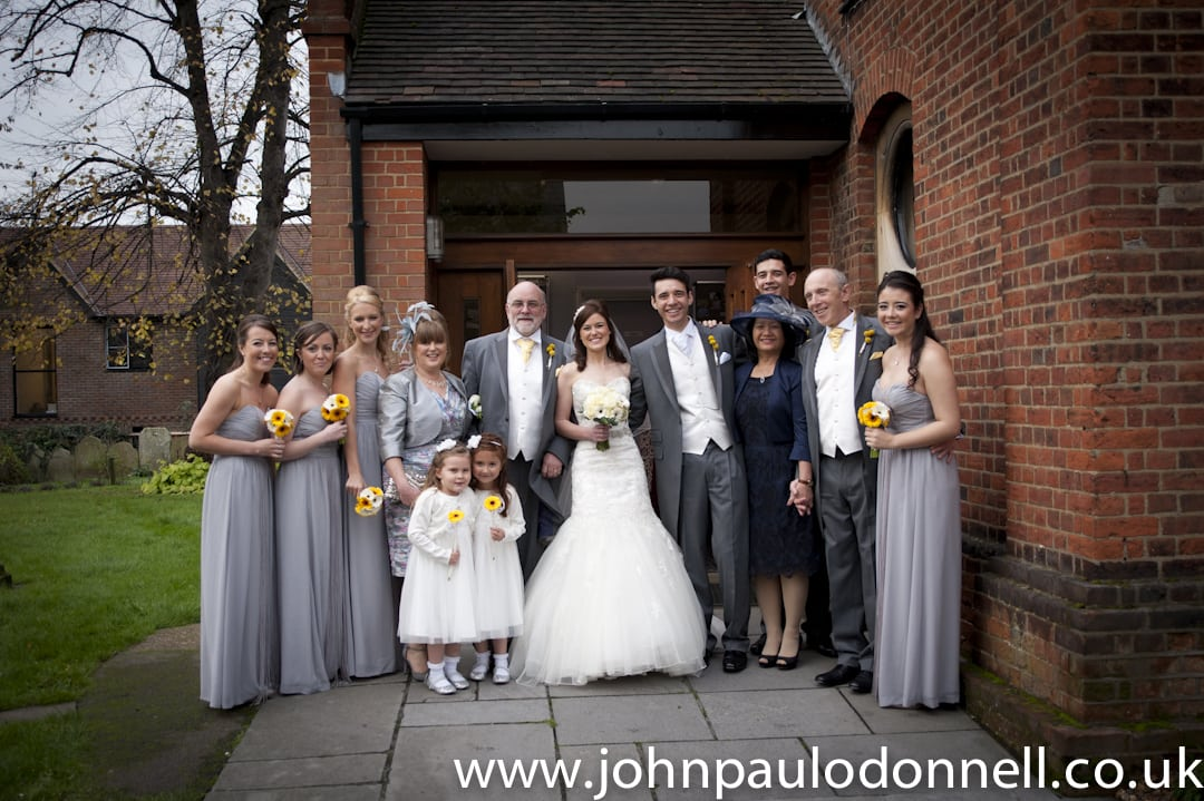 Wedding at St Pauls Church Hoddesdon