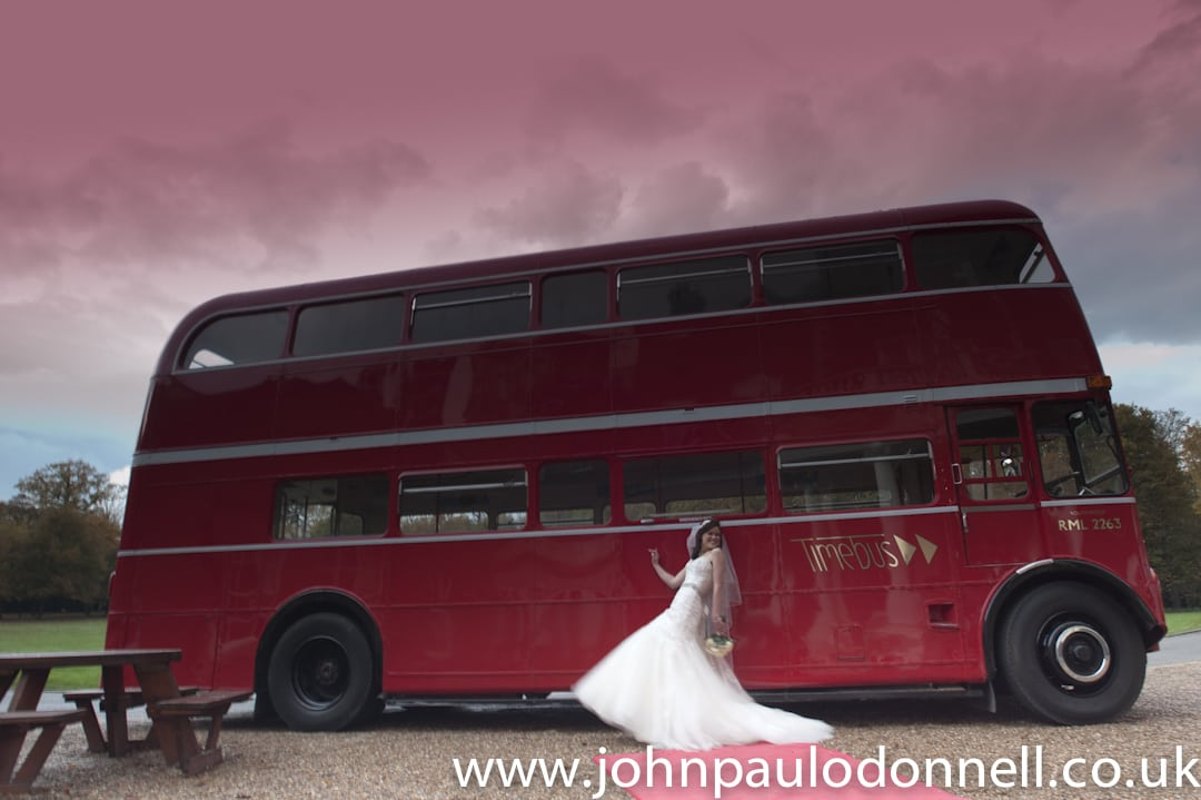 Theobalds Park Bride