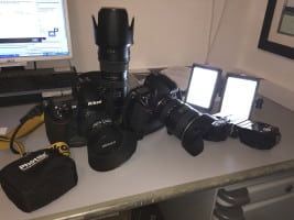 Wedding photography equipment