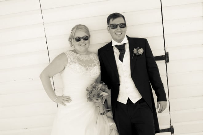 Bride and Groom at the wedding. John Paul ODonnell Photography Hertfordshire