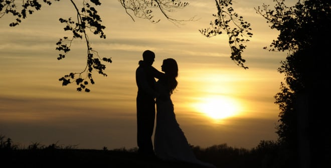 Wedding Sunset. John Paul ODonnell Photography Hertfordshire