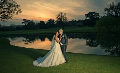 Hanbury Manor Sunset