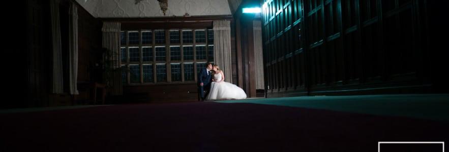 Fanhams Hall Hertfordshire winter wedding photography