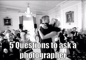 5 Questions as a Bride to ask a Hertfordshire Photographer
