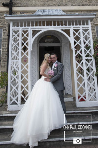 This picture is of Bride and Groom Prince Regent Hotel in Chigwell