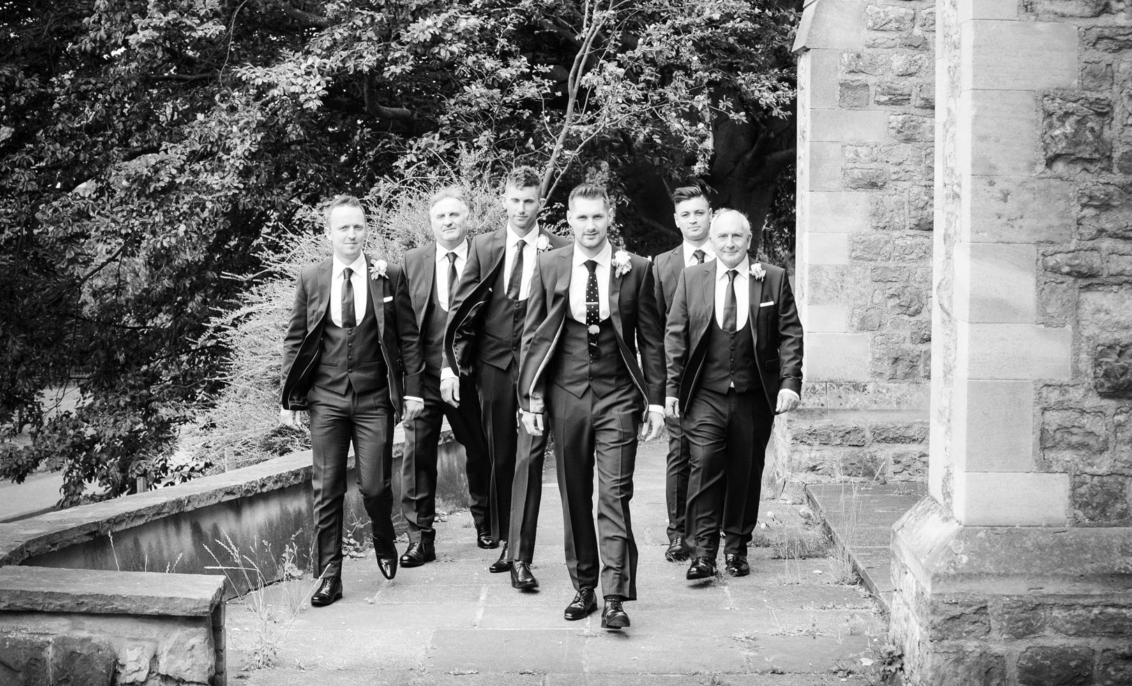 Groomsmen in Hertfordshire