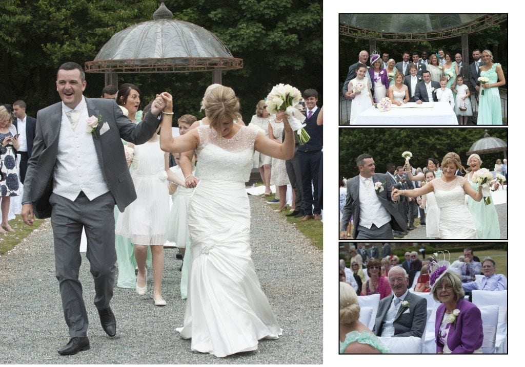 Just Married at Theobalds Park, Hertfordshire