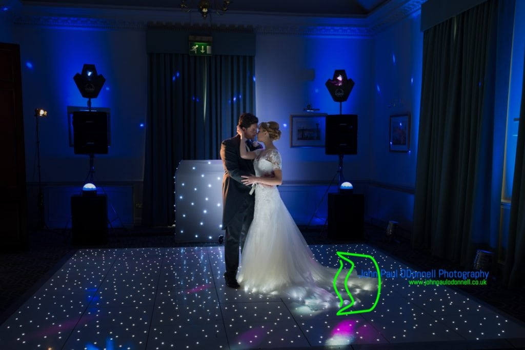 The Bride and Grooms First Dance at Theobalds Park