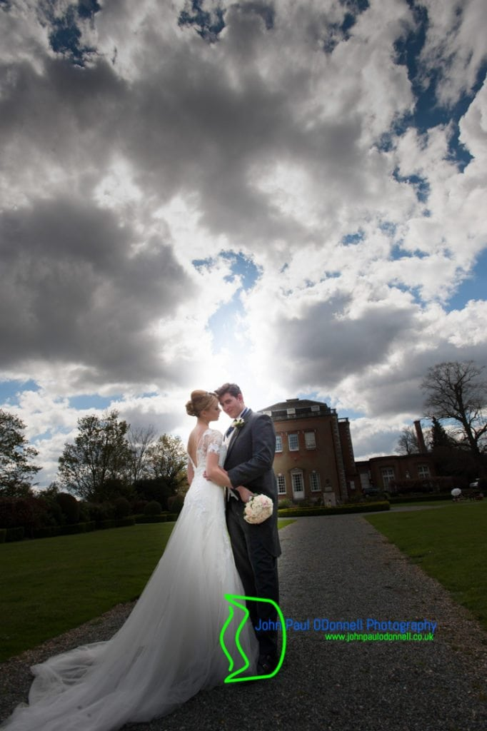 The Bride and Grooms Final image at Theobalds Park