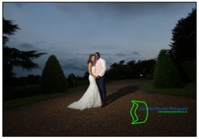 Image of the Bride and Groom during their first dance. Image by John Paul ODonnell Photography