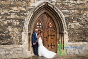 Waltham Abbey wedding pic