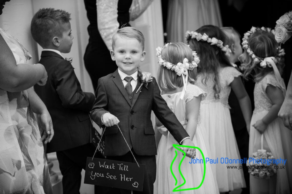 Pageboy and flower girls