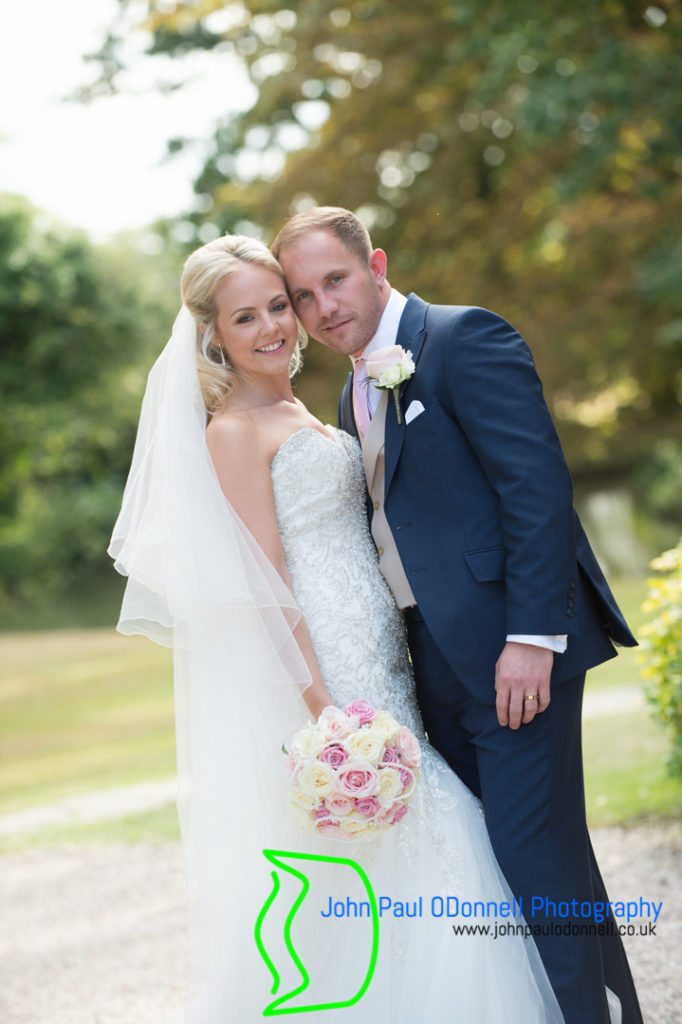 bride and groom at mulberry house