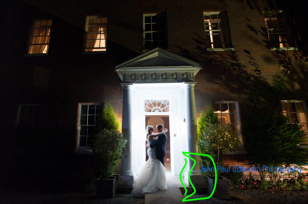 Night shot at mulberry house ongar essex