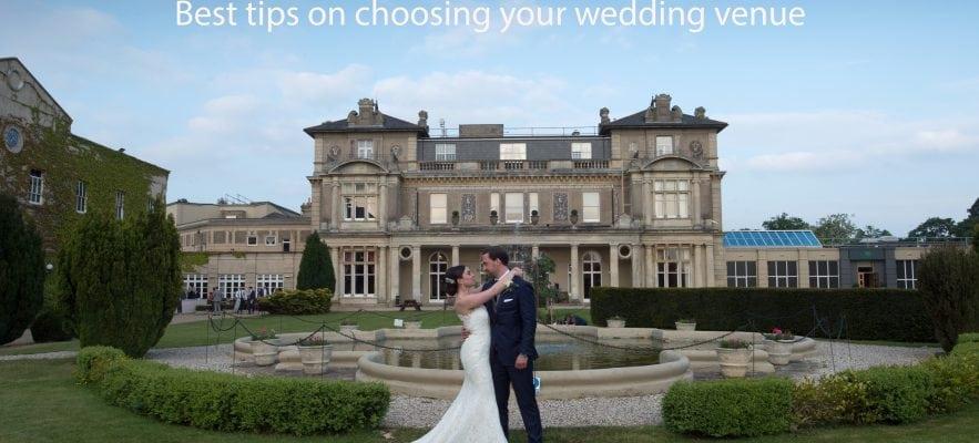 Best tips on choosing your wedding venue
