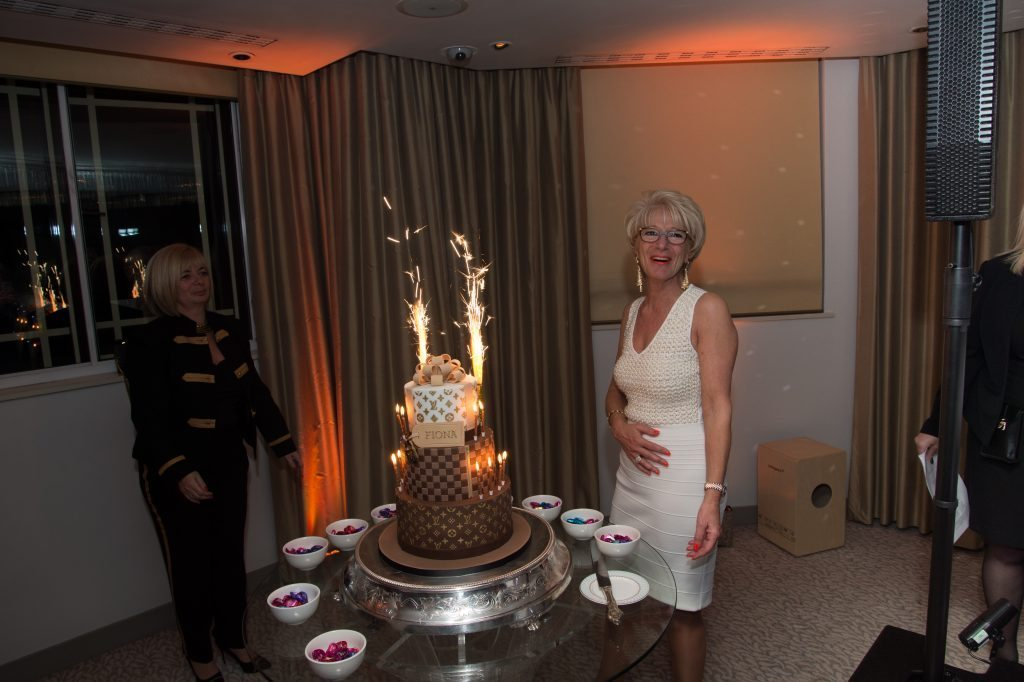 60th birthday at Dorchester hotel London