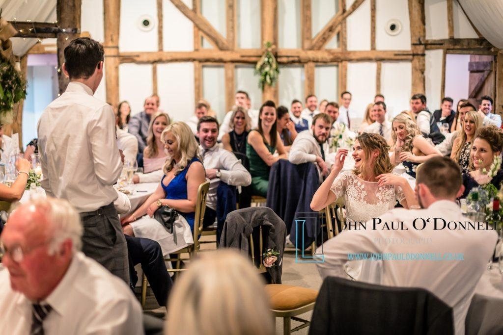 wedding speeches at south farm