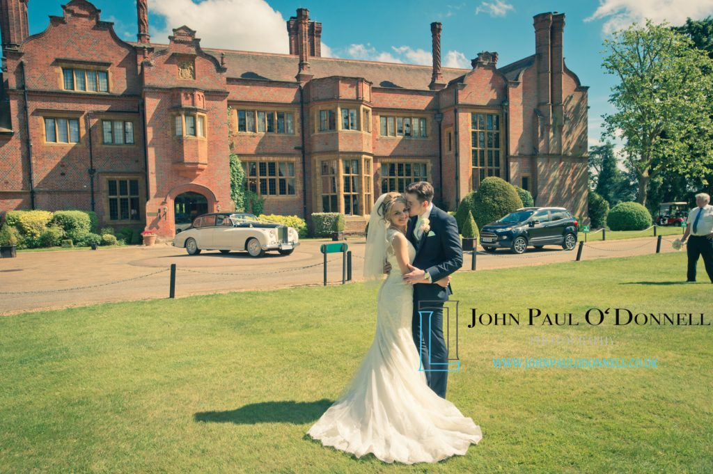 Wedding Jenna and Mark on Saturday at Hanbury Manor Garden Court