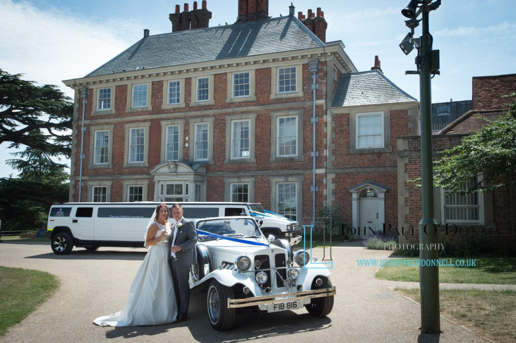 Kellie and Deans wedding at Forty Hall