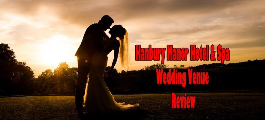 couple at Hanbury manor