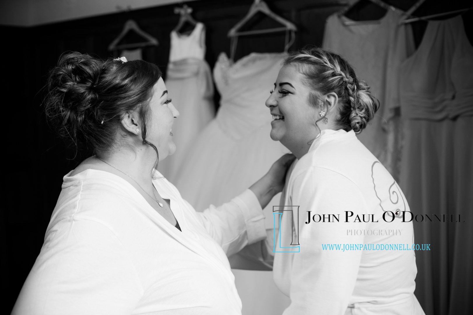 Kelly and Bradleys wedding at Fanhams Hall