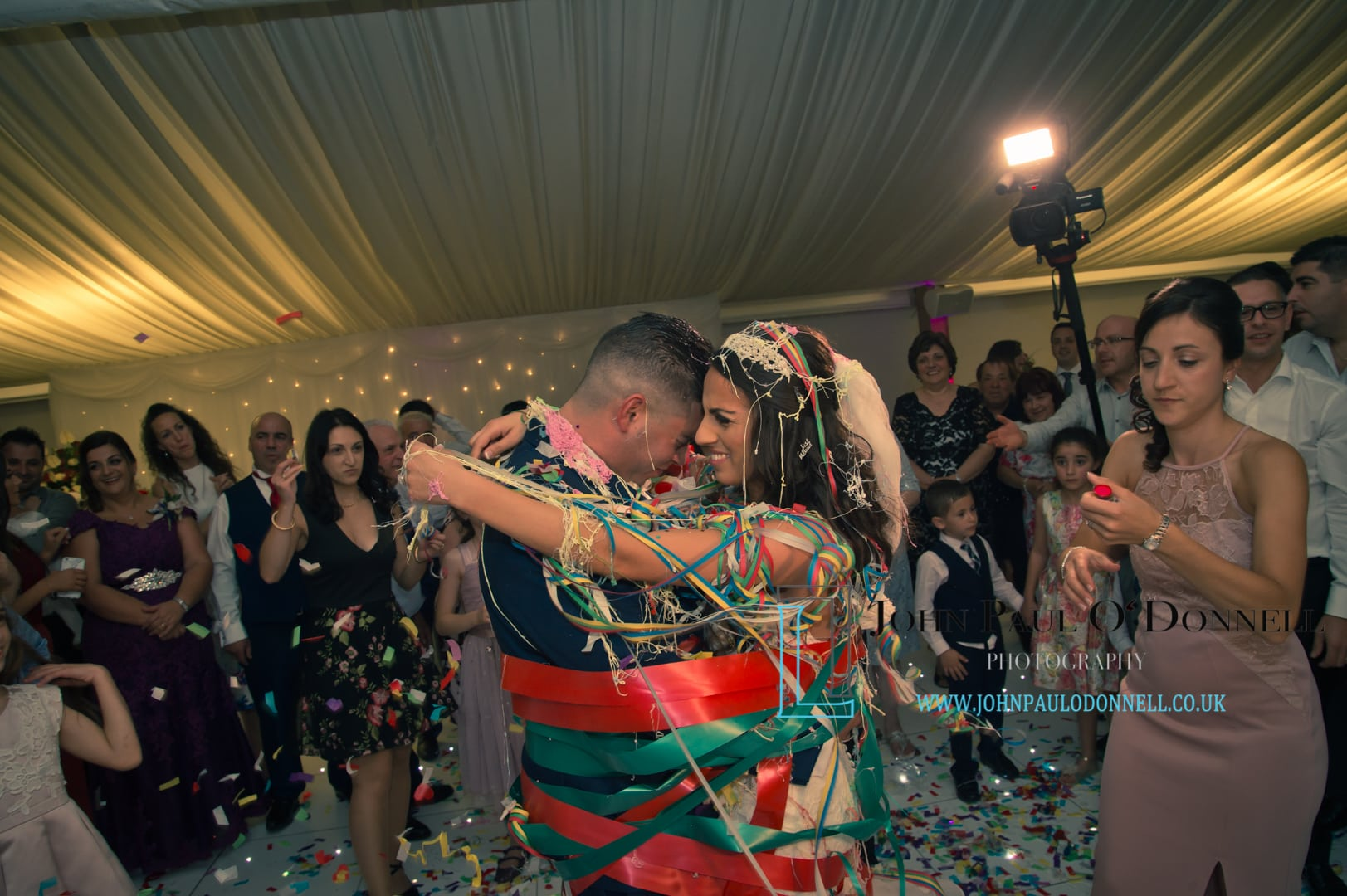 Sam and Christinas wedding at tewinbury farm