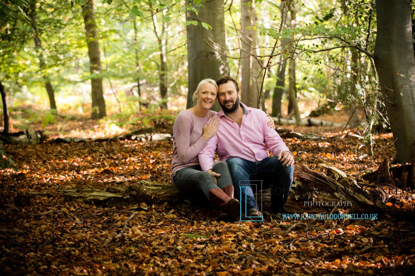 sarah and carey autumn photoshoot high beech essex