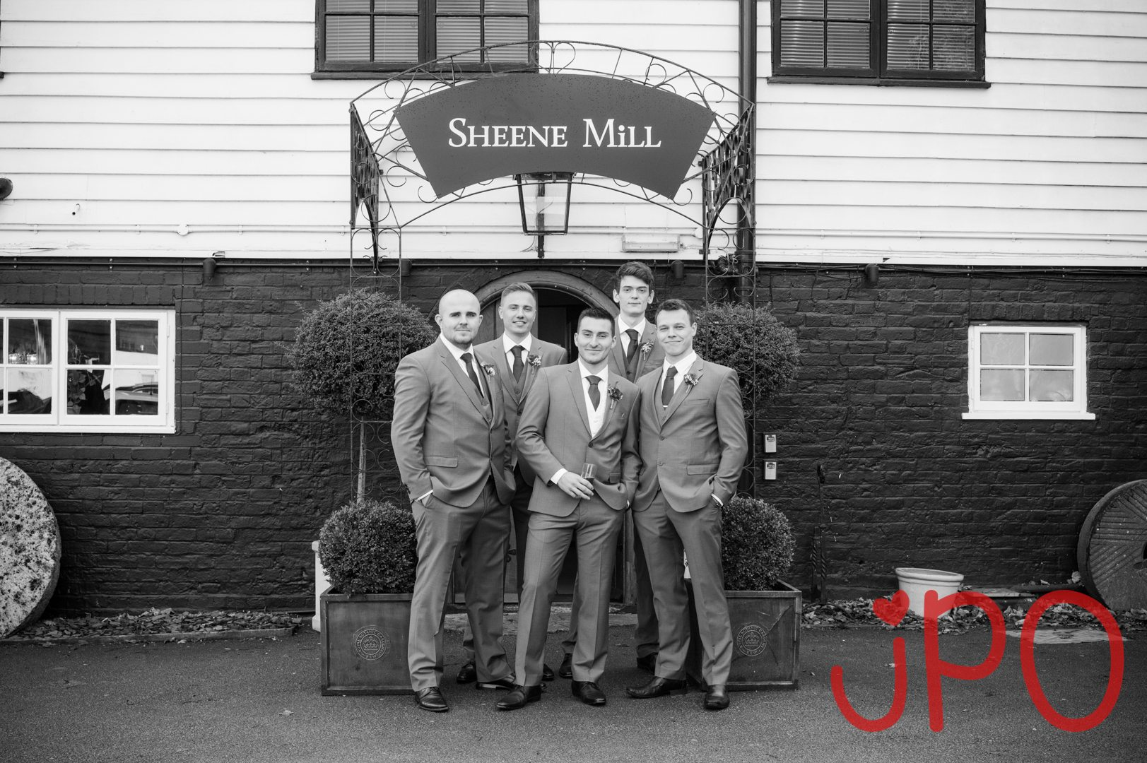 Rikki and Frankie's wedding at sheene mill royston