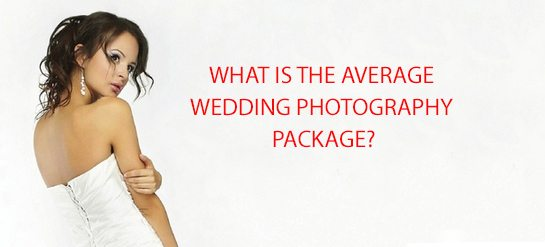 what is the average wedding photography package?