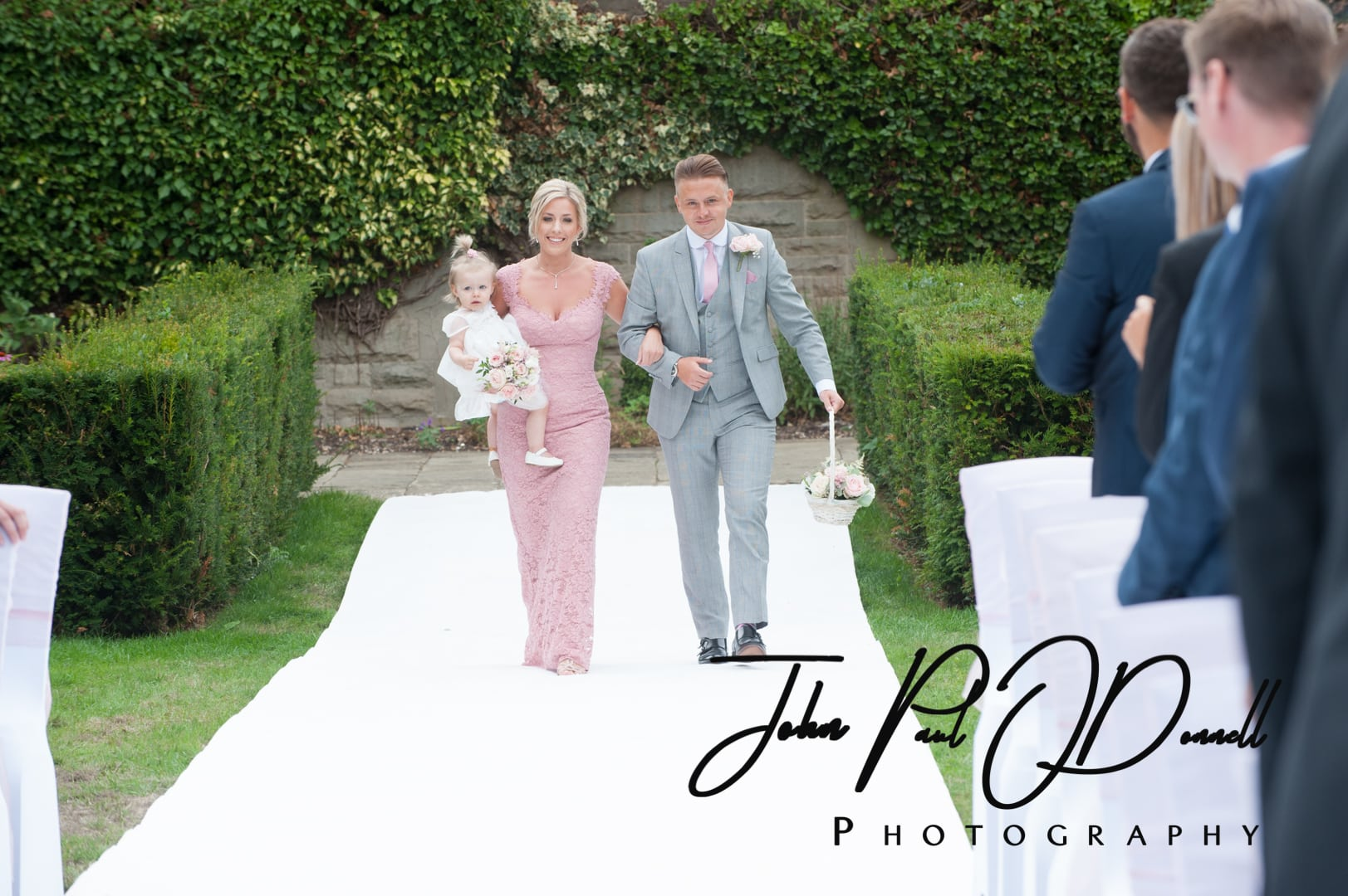 Fanhams Hall Wedding - Christie & Danny