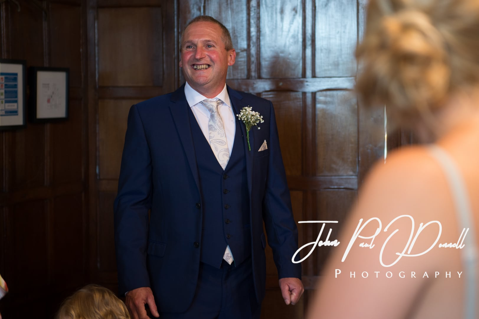 Clare and Josephs wedding at Fanhams Hall Herts