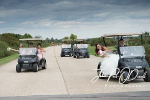 Emma and Scotts outside Wedding at Blakes Essex