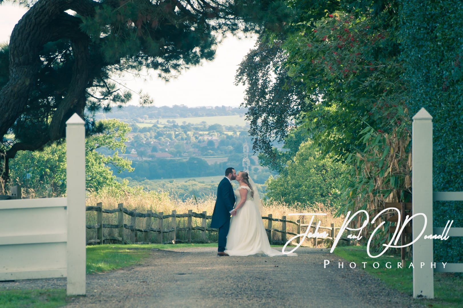 Emmie and Taylors wedding at Gaynes Park