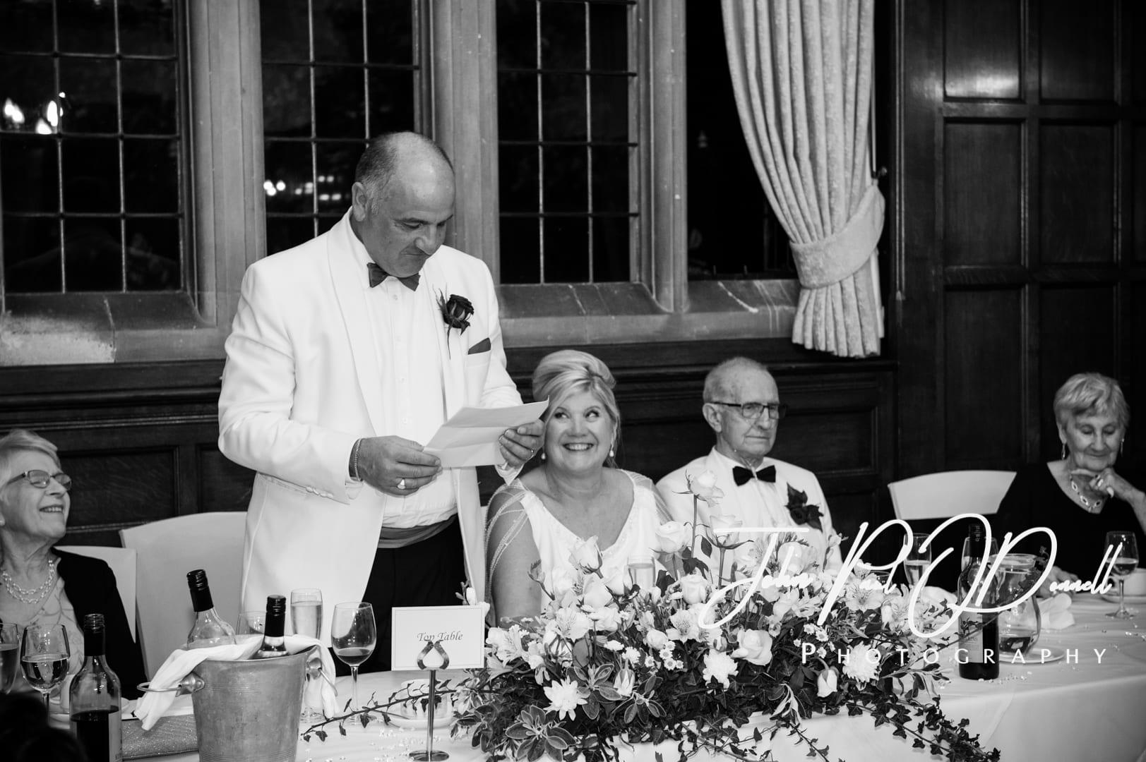 Nichola and Mikes Autumn Wedding at Fanhams Hall