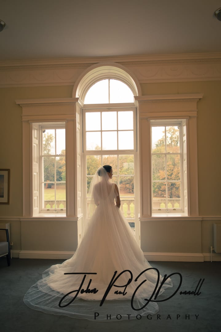Megan and Christophers wedding at Theobalds Park Mansion