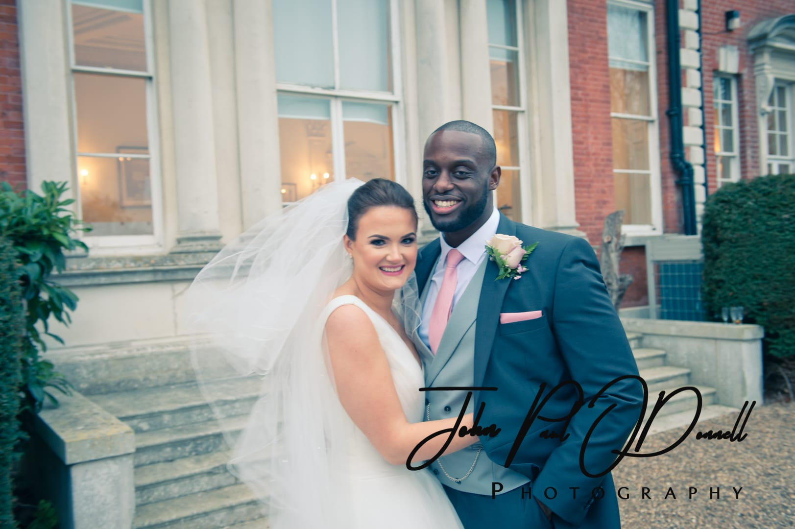 Megan and Christophers wedding at Theobalds Park Mansion
