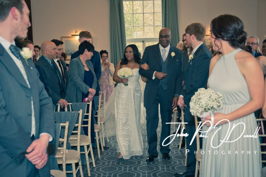 Yasmin and Georges Spring wedding at Theobalds Park