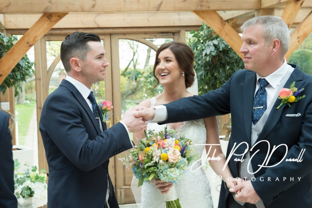 Hayley and Richards Spring Wedding at Gaynes Park Essex