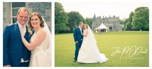 Lauren and Pauls wedding at Mount Falcon Estate Co Mayo Ireland