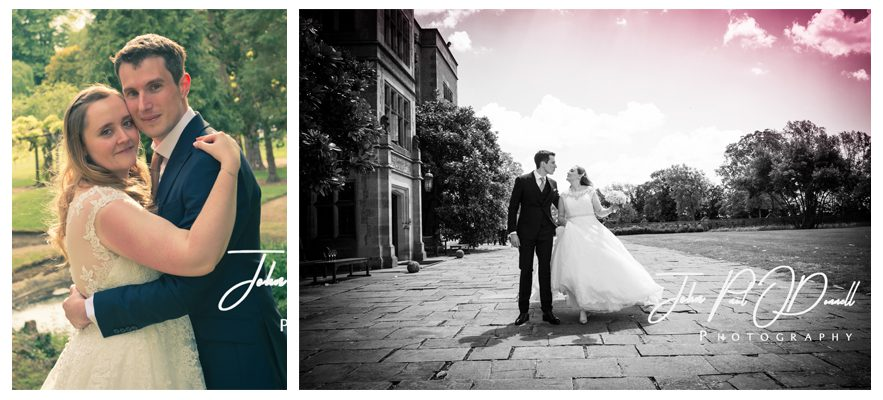 Oceane and Richards civil wedding at Fanhams Hall Herts