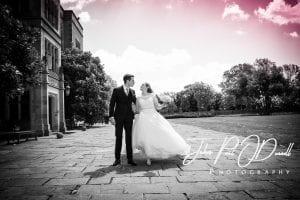 Oceane and Richards civil wedding at Fanhams Hall Herts