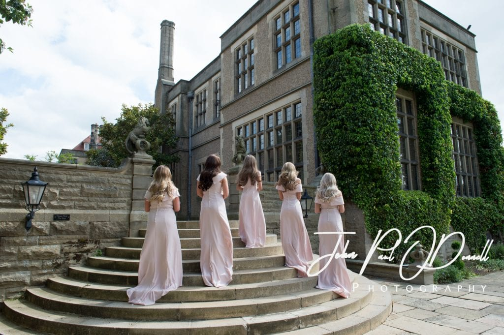 Thomas and Reeces wedding photos at Fanhams Hall Herts