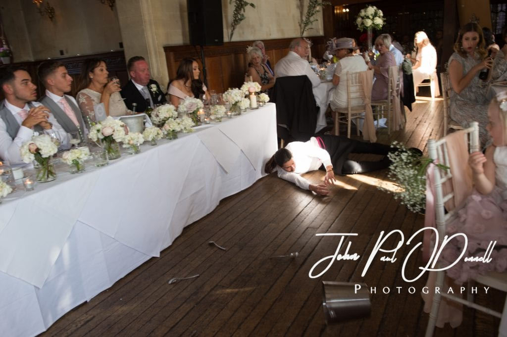 Thomas and Reeces wedding photos at Fanhams Hall Herts
