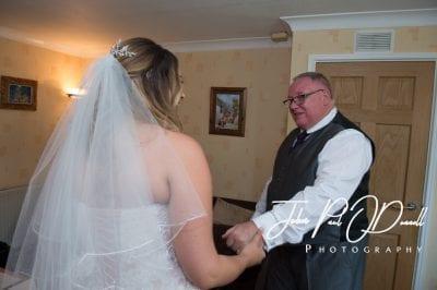 Emma and Jonathans wedding at Fanhams Hall Ware
