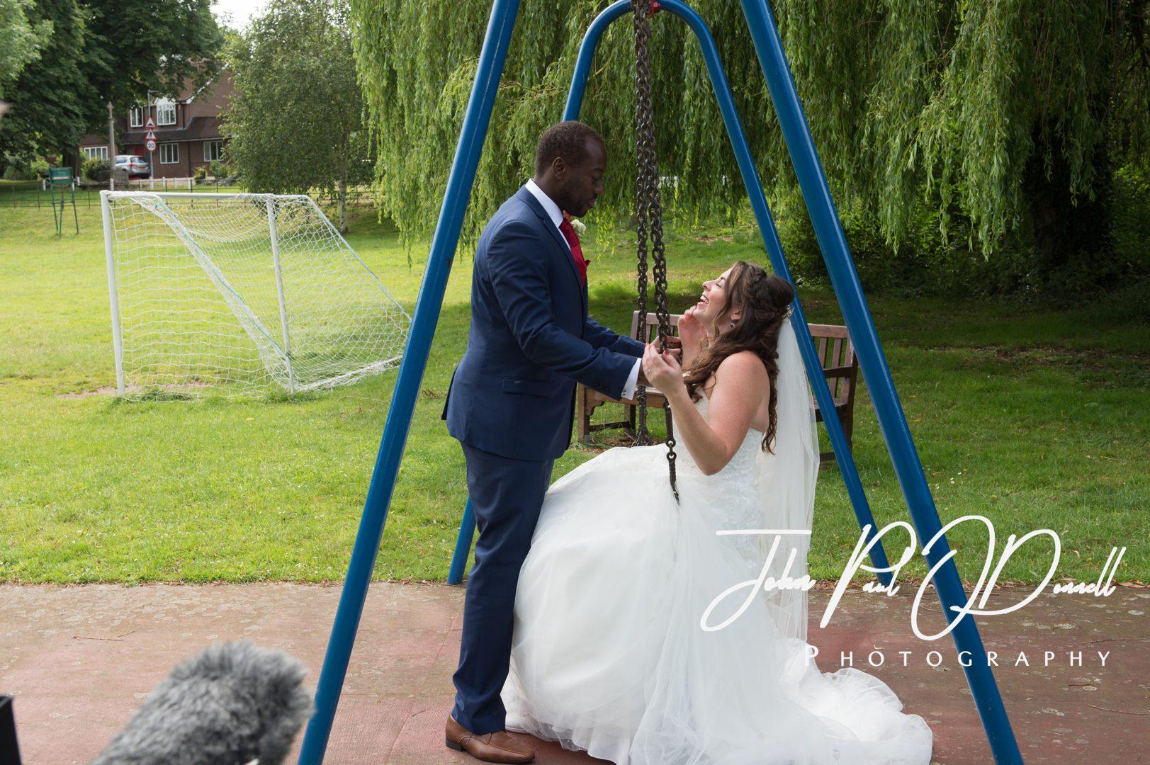 Rebecca and Ricardos wedding at Mayflower Place Hertford