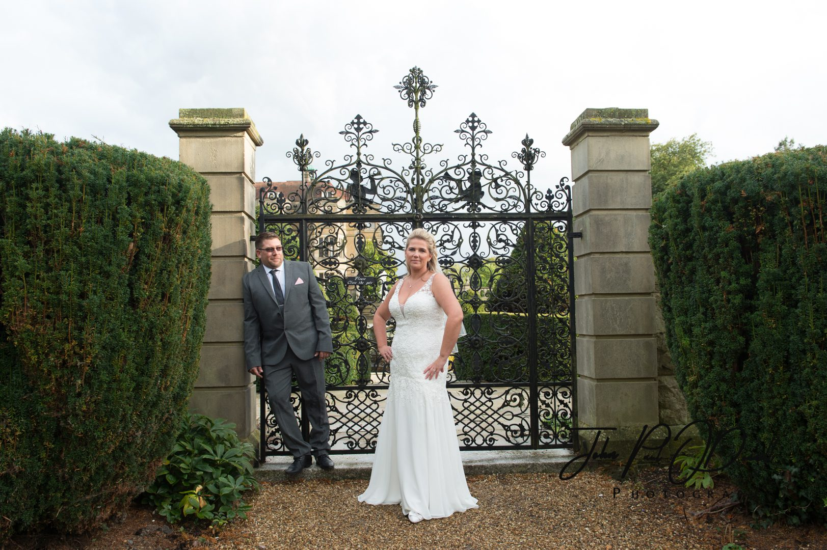 Danielle and Roberts Wedding at Fanhams Hall