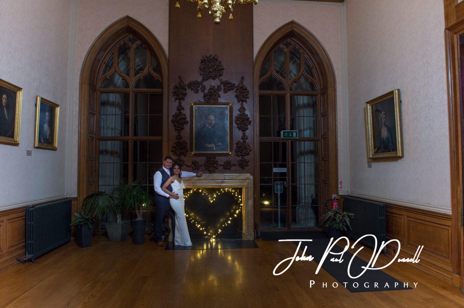 Lauren and Jonathans wedding at Ashridge House