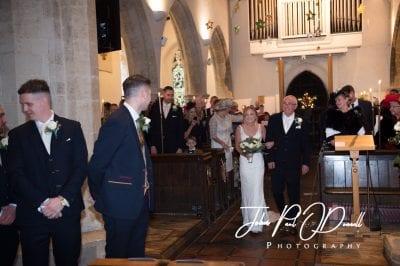 Matthew and Jills Luton Hoo Christmas Wedding